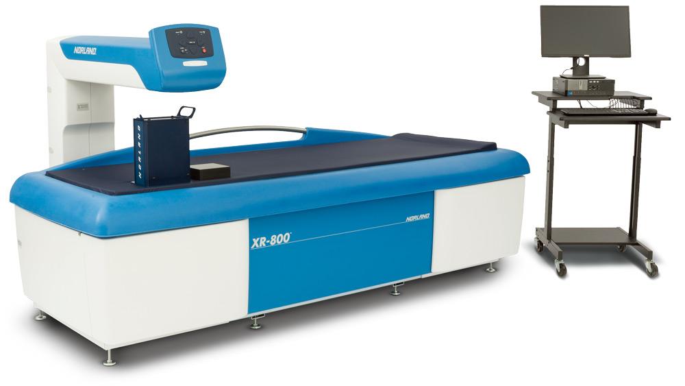 NORLAND XR-800全身用X線骨密度測定装置